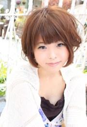 cute short japanese hairstyles