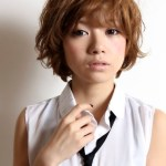 Japanese girls short haircut