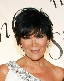 2013 Layered Short Black Hairstyle
