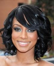 medium black prom hairstyles