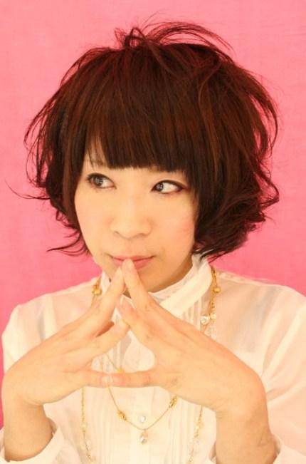 Messy-Japanese-Hair-Style
