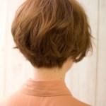 Popular Japanese Haircut back view