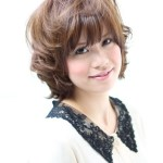 Short Japanese haircut for layers