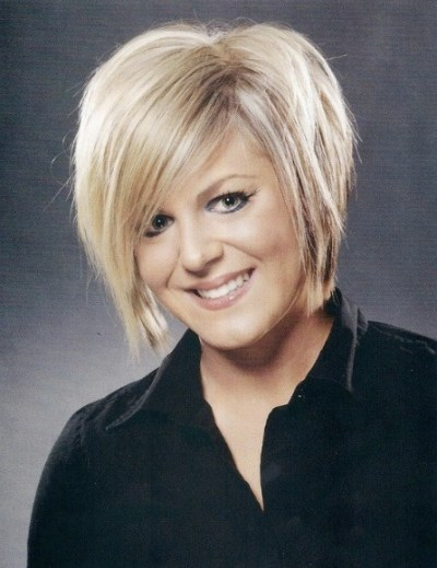 Classic Short Wedge Hairstyle for women