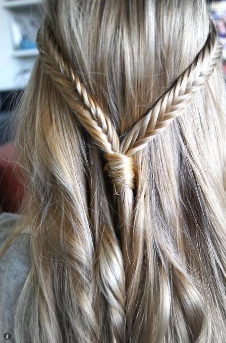 Trendy Fishtail Braid