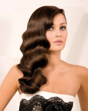 finger waves hairstyle long