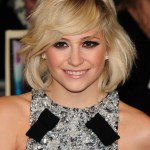 Adorable layered bob from Pixie Lott