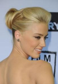 Latest Popular Formal Sleek Blonde Bobby Pinned Updo Hairstyle