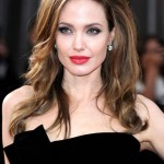 Angelina Jolie Celebrity Long Wavy Curly Hairstyles