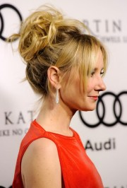anne heche sexy messy updo