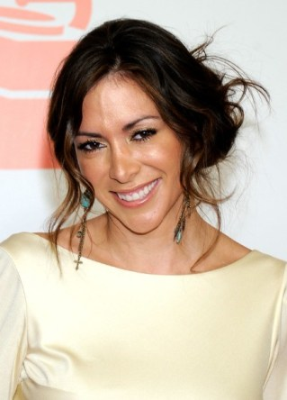 Arlene Tur Casual Messy Updo Hairstyle for Women