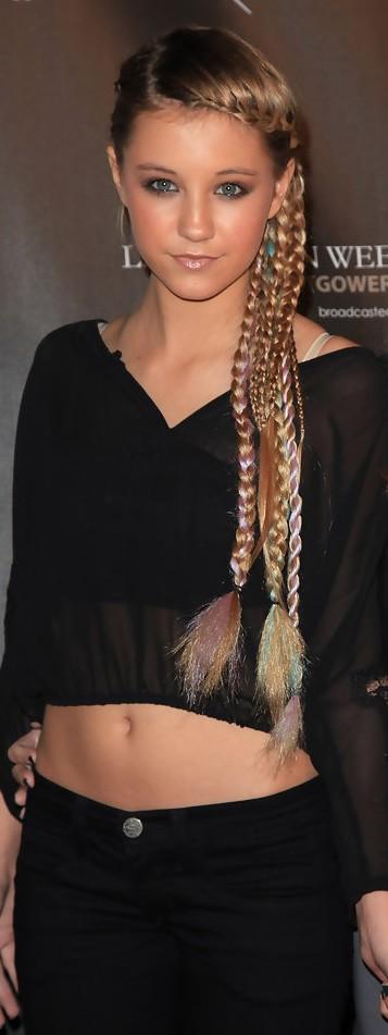 Ava Sambora Long Braided Hairstyle