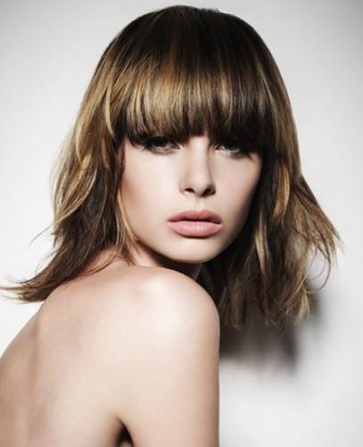 2013 hairstyles: Bangs