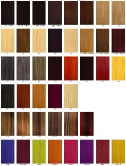 hair color charts - hairstyles