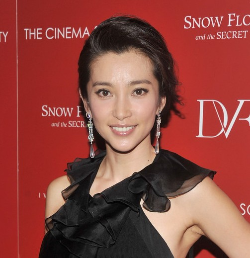 Chinese Messy Updo Hairstyle for Women