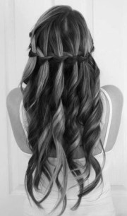 waterfall braid - hairstyles weekly