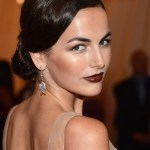 Formal Low Loose Bun Updo Hairstyle from Camilla Belle