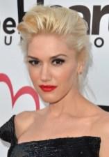 Celebrity Formal Updos: Gwen Stefani Updo Hairstyles for Mature Women
