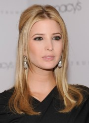 ivanka trump center parted long