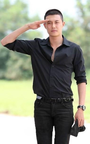 Jae hee buzz cut for men 2013