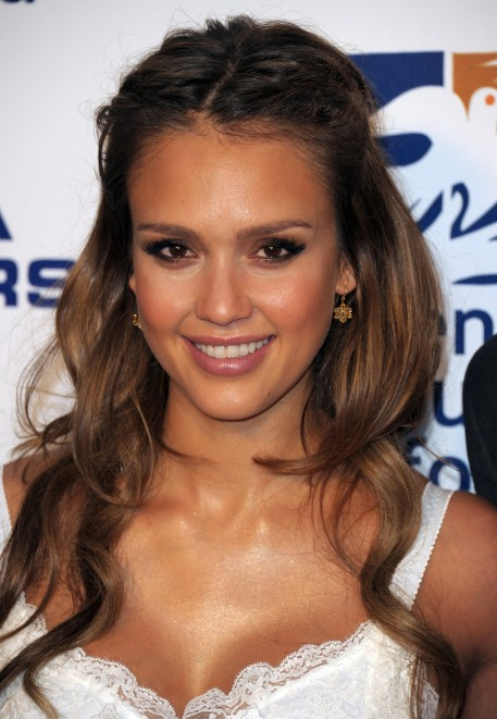 17 Best Images About Jessica Alba On Pinterest Updo Honey Brown