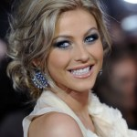 Julianne Hough Messy Updo Haircut