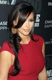 Kim Kardashian Sexy Side Braid - 2013 Popular Braided Hairstyles