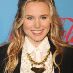 Kristen Bell Middle Part Long Wavy Hairstyle
