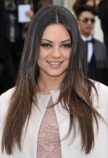 Mila Kunis Long Choppy Layered Hairstyles