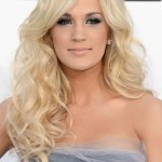 Long Curly Hairstyle with Side Bangs for 2013