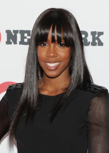 2013 Long Sleek Black Hairstyle for Black Women