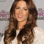 Kate Beckinsale long wavy hair style