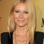 Long Middle Part Hairstyle from Gwyneth Paltrow