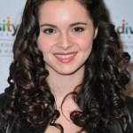 Middle Parted Long Curly Black Hairstyle 2013 -2014