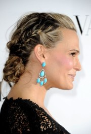 molly sims braided updo homecoming