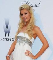 Paris Hilton Beautiful Half Up Half Down Wedding Hairstyles