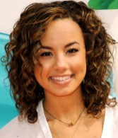 Savannah Jayde Medium Curly Hairstyle for 2013