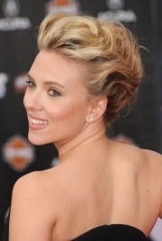 bobby pinned updos - hairstyles