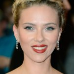 Scarlett Johansson Braided Updo for Prom
