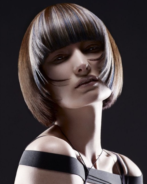 Short Feminine Hairstyles - 2013 Short Bob Haircut for Women