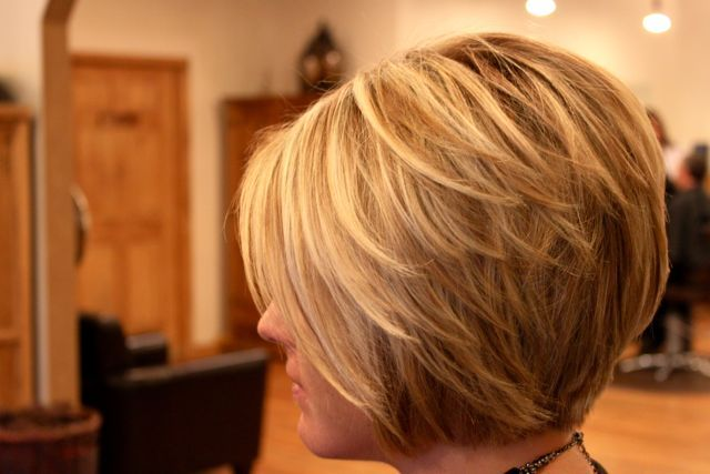 Side View of Cute Layered Bob Cut  Hairstyles Weekly