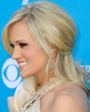 side view of carrie underwood