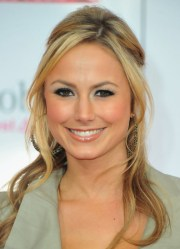stacy keibler casual long hairstyle