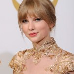 Taylor Swift Hairstyles with Bangs 2013