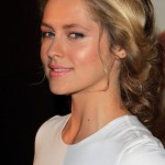 Teresa Palmer Cute Messy Updo Hairstyle