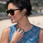 Vanessa Hudgens Black Casual Loose Bun Updo