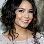 Vanessa Hudgens Cute Loose Bun Updo with Curls