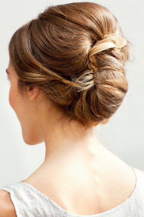 Wedding Retro Updo 2013