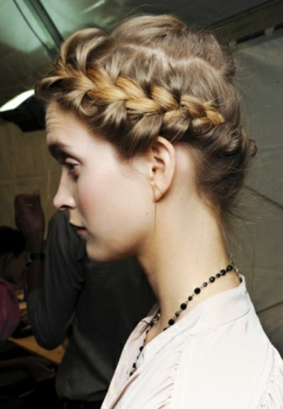 Elegant Crown Braid Hairstyles