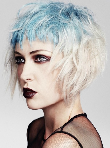 Latest Hairstyle Short Goth Hairstyles Inspiring Photos Of